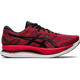 asics Glideride Schoenen Heren, speed red/black